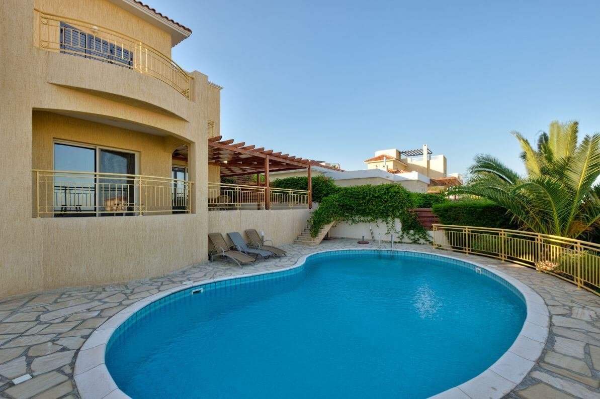 Villa with Panoramic view in Germasogeia