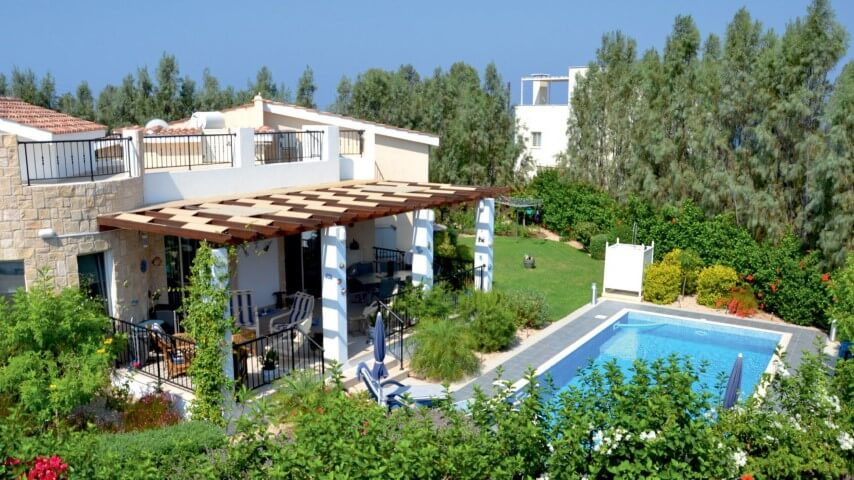 Arsinoe Beach Village Villa in Paphos